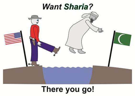 If you Want to Live Under Sharia Law you do NOT Belong in America!