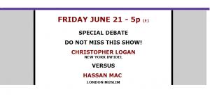 Debate London Muslim