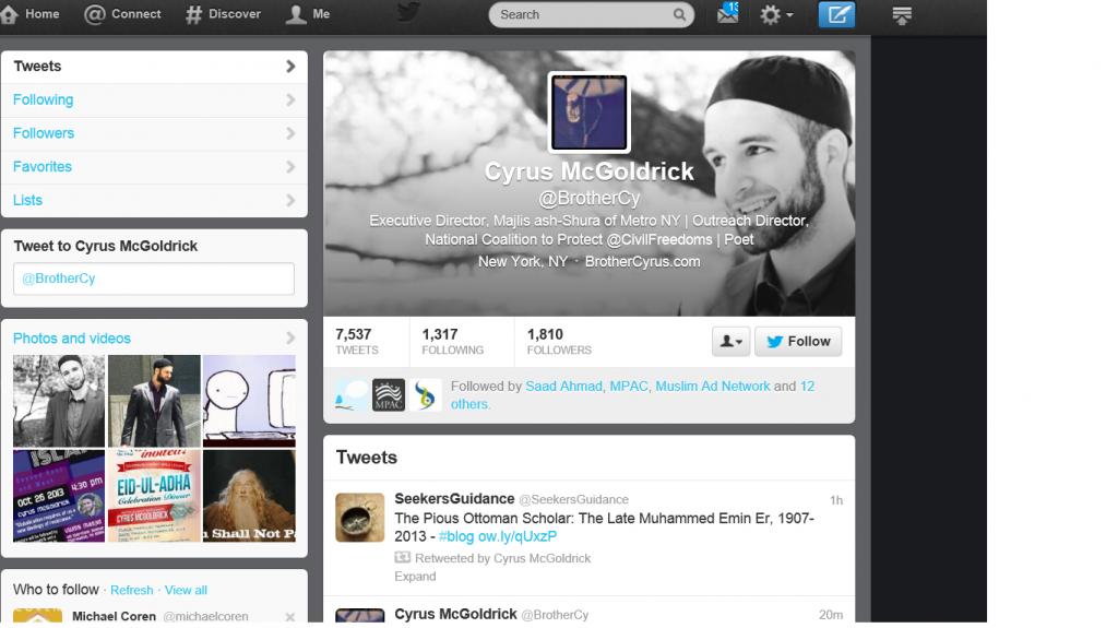 Cyrus profile