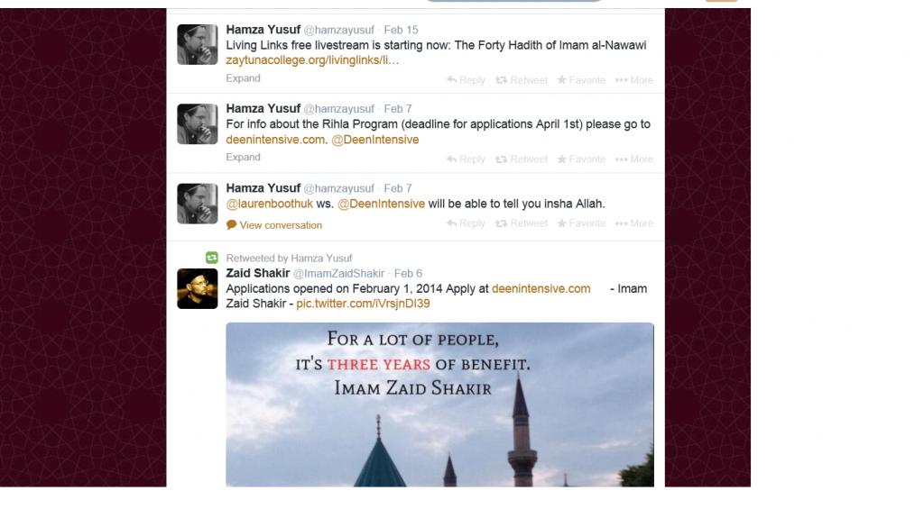 Hamza and 40 Hadith