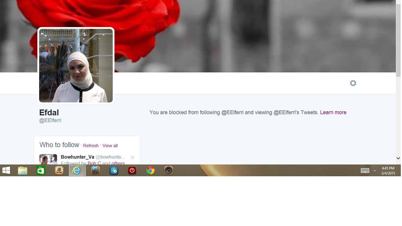 Blocked by 2 Efdal