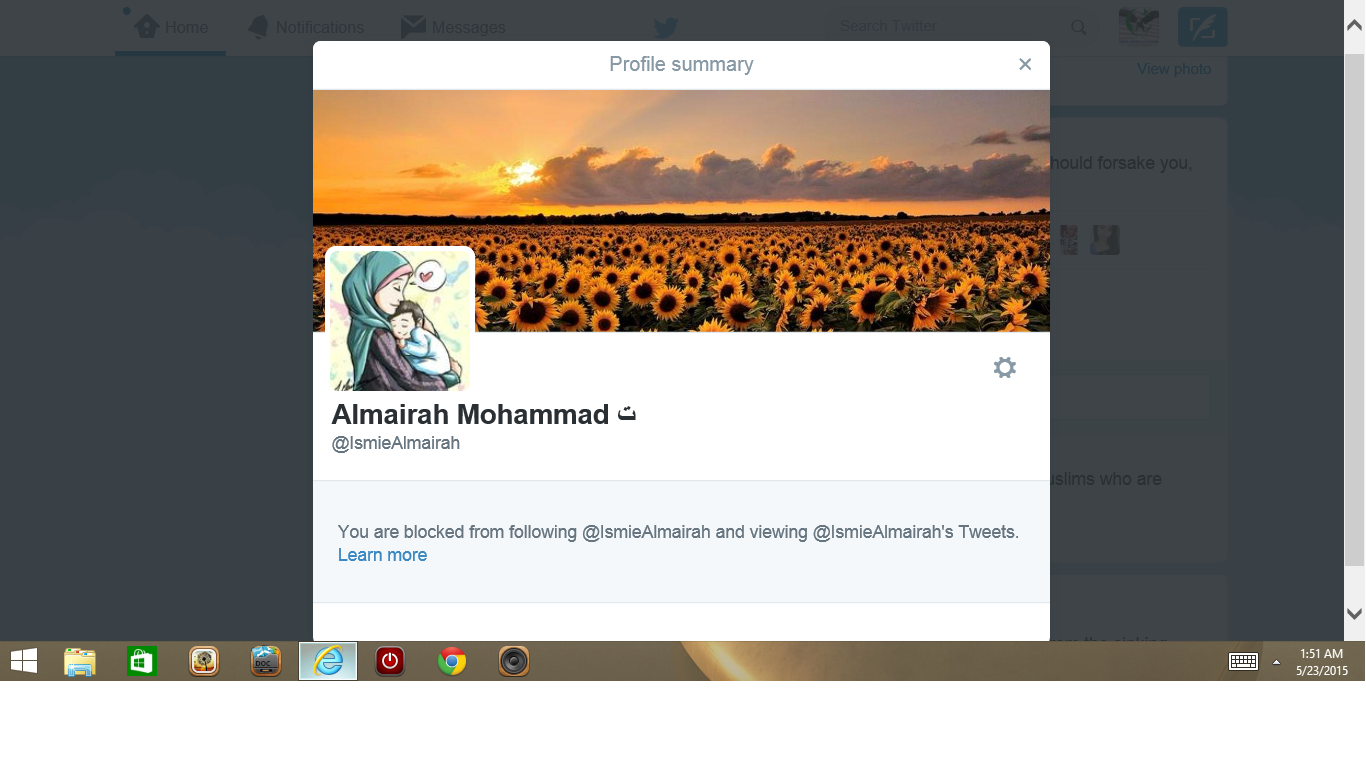 Blocked by 3 Almariah