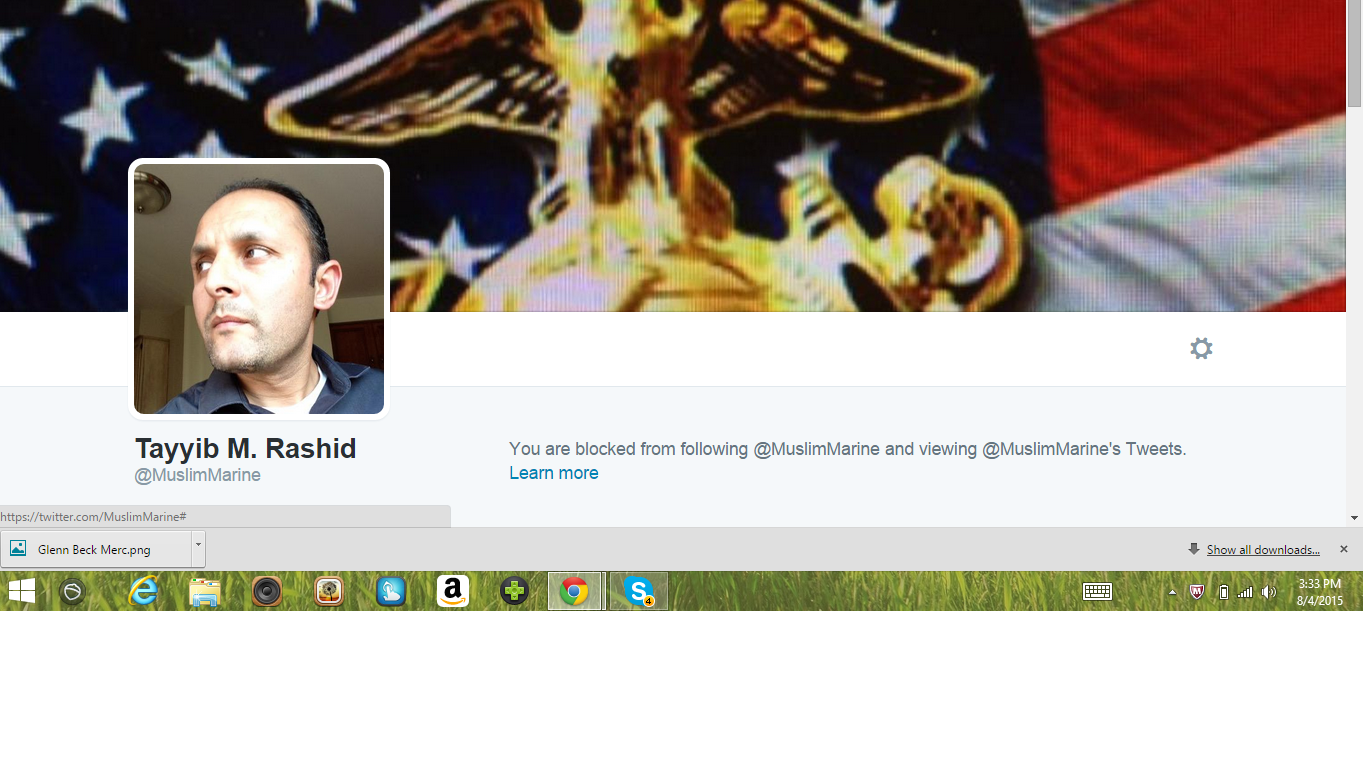 Blocked by 5 Tayyib Muslim Marine