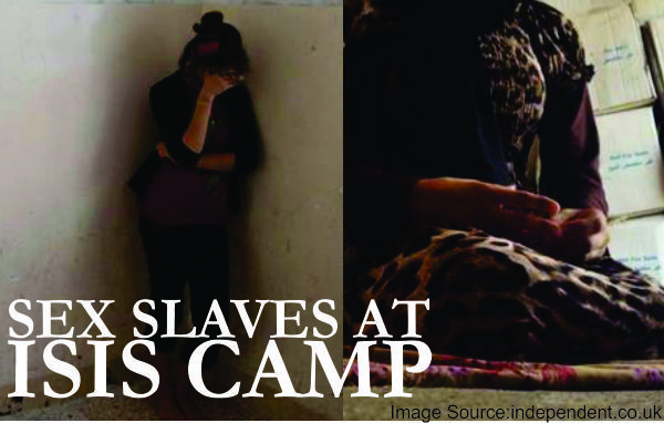 Sex slaves at ISIS camp