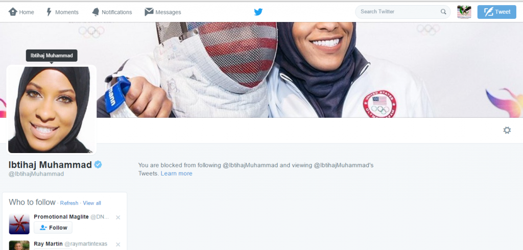 Blocked by 6 Ibtijad Muhammad